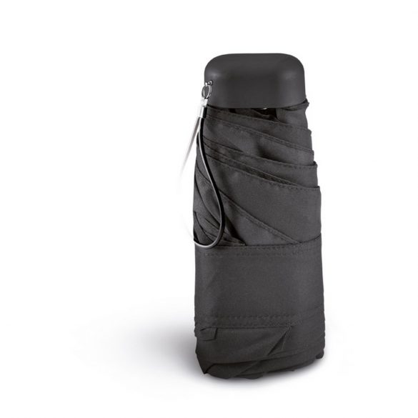Umbrela de ploaie 20 inch, poliester 190T, Everestus, UP2, negru