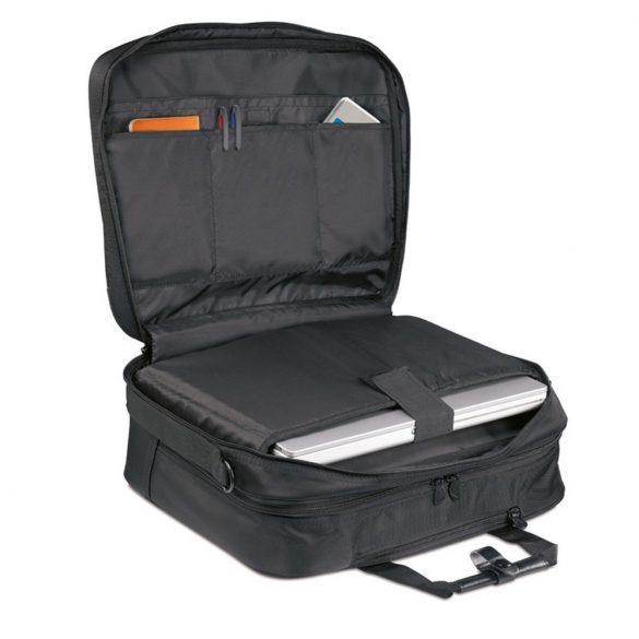 Geanta troler pentru Laptop 15 inch, poliester, Everestus, GL31, negru