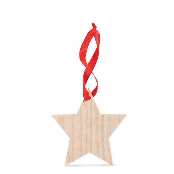 Ornament in forma de stea, Wood, wood