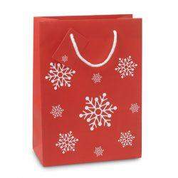 Punga medie de cadou, Paper, red