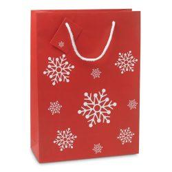 Punga mare de cadou, Paper, red