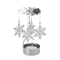 Decoratiune Craciun, Metal, silver