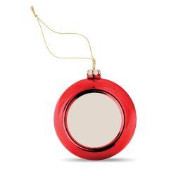 Glob de Craciun pt. Sublimare, Plastic, red