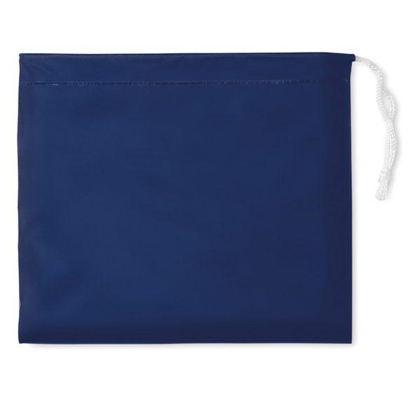 Pelerina de ploaie cu gluga si husa, Everestus, 20IAN1194, Albastru, PVC