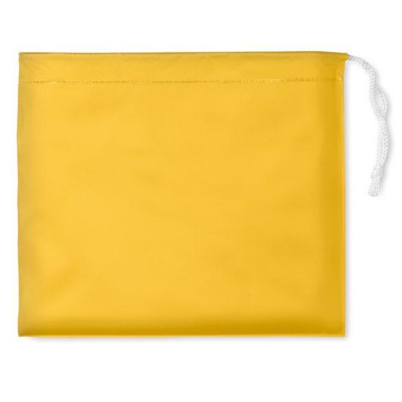 Pelerina de ploaie cu gluga si husa, Everestus, 20IAN1197, Galben, PVC
