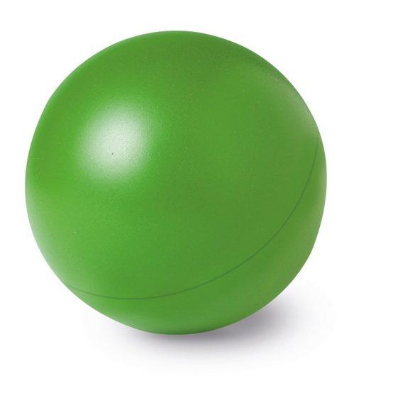 Jucarie antistres Minge unicolora, diametru 60 mm, Everestus, ASJ005, poliuretan, verde