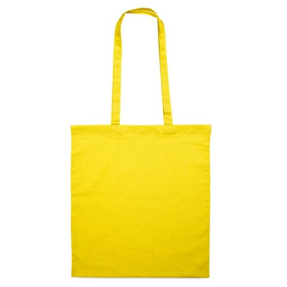 Sacosa cumparaturi cu manere, bumbac, yellow