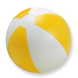 Minge de plaja gonflabila, PVC, yellow