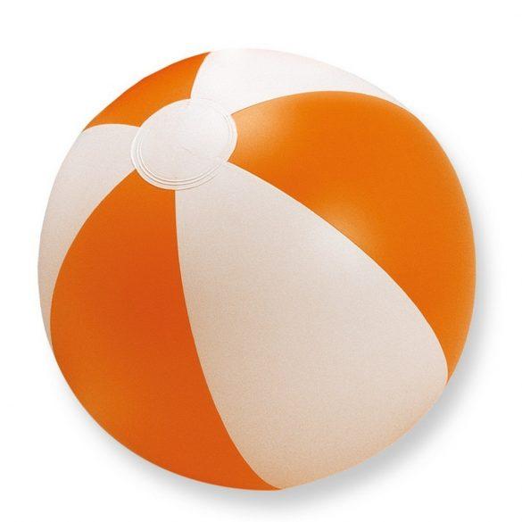 Minge de plaja gonflabila, Everestus, EGB053, pvc, portocaliu