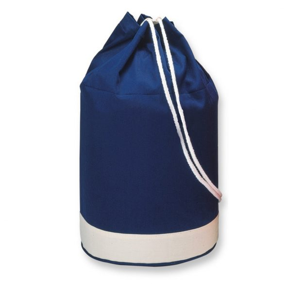 Saculet cu snur bicolor, marinaresc, Everestus, 20IAN1229, Albastru, Bumbac