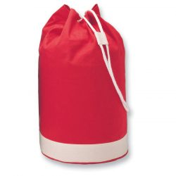 Sac yachting bicolor navy, bumbac, red