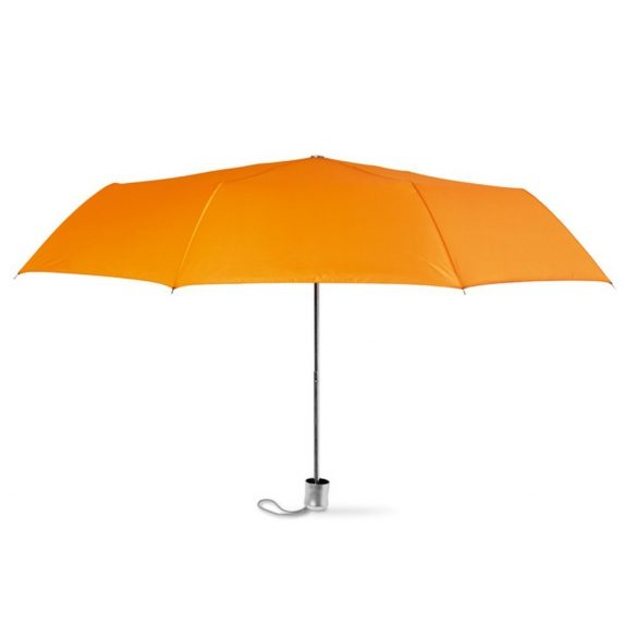 Umbrela pliabila cu deschidere manuala, 21 inch, 3 sectiuni, poliester, Everestus, 8IA19132, portocaliu