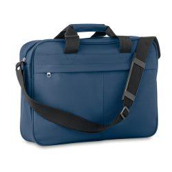 Geanta pentru documente, poliester, Everestus, GD8, albastru, saculet de calatorie si eticheta bagaj incluse
