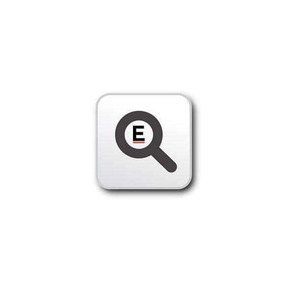 Borseta cosmetice transparenta, PVC, blue
