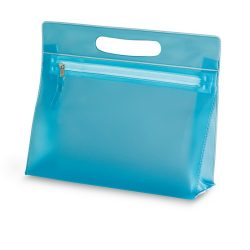 Borseta transparenta din PVC, blue