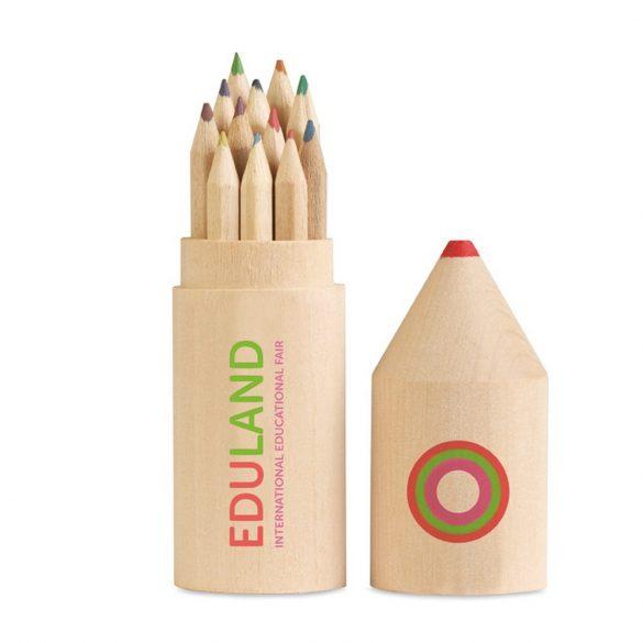 12 creioane in cutie din lemn, Wood, wood