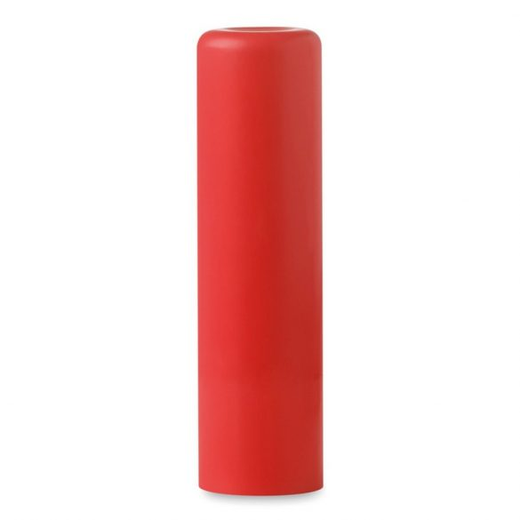 Balsam natural pentru buze, Plastic, red