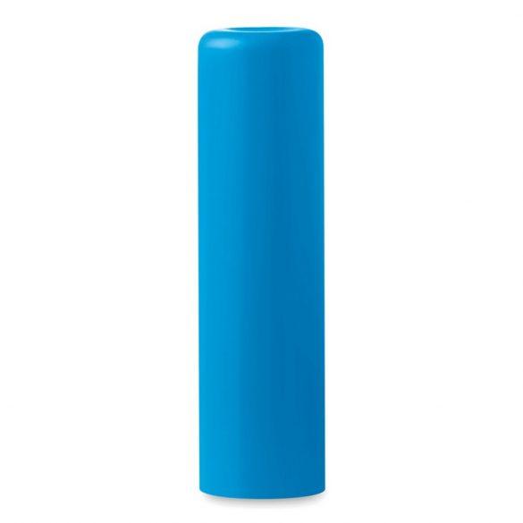 Balsam natural pentru buze, Plastic, turquoise