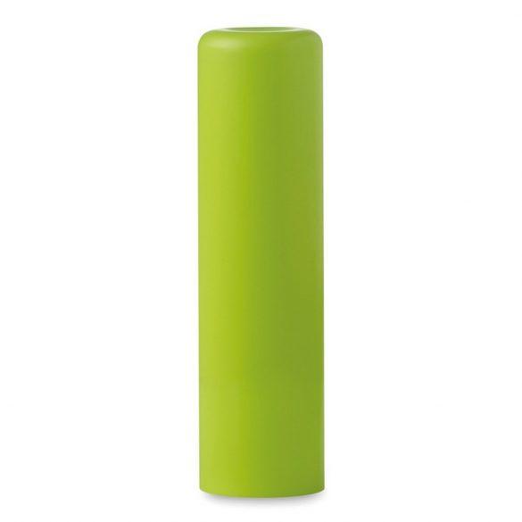 Balsam natural pentru buze, Plastic, lime