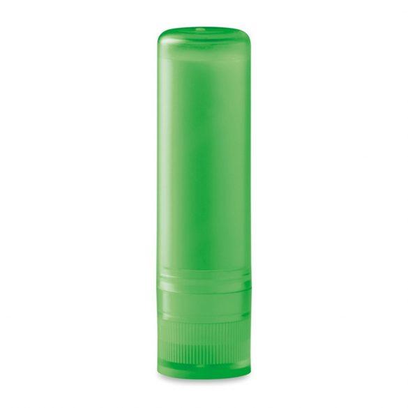 Balsam natural pentru buze, Plastic, transparent lime