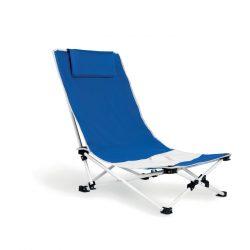 Scaun de plaja, sustine maxim 100 kg, pliabil, Everestus, 20IAN1884, Albastru, Poliester