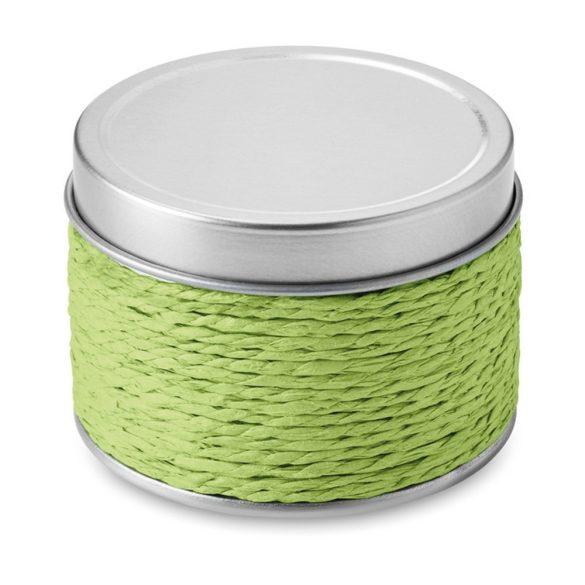 Lumanare parfumata mar verde, in cutiuta metalica, Everestus, LPD13, verde lime