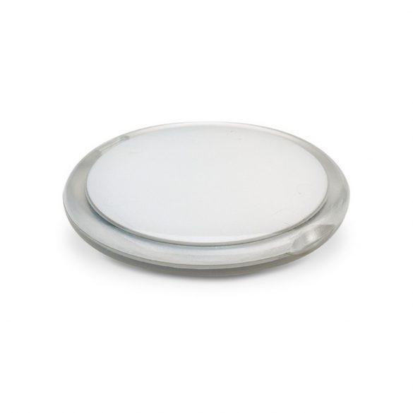 Oglinda rotunda dubla, Plastic, transparent