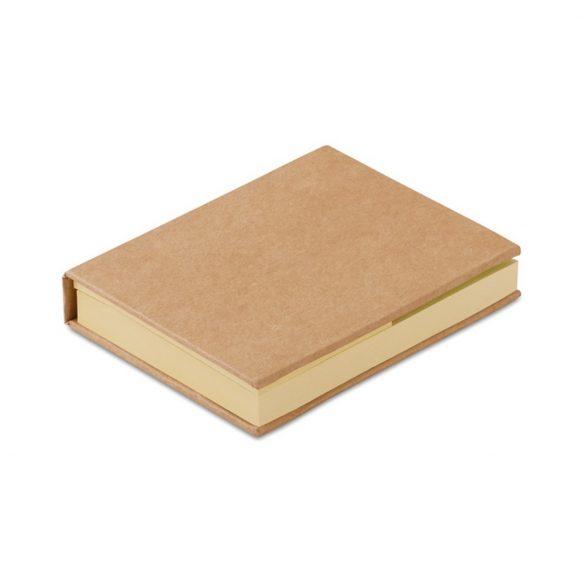 Set notes adezive, Paper, beige