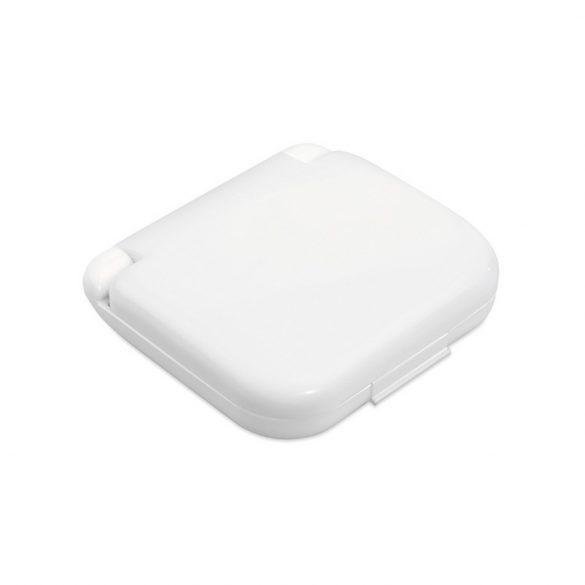 Trusa de cusut cu accesorii, Plastic, white