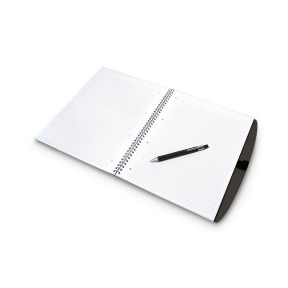 Set agenda A4 si pix, Everestus, 20IAN1757, Negru, Hartie