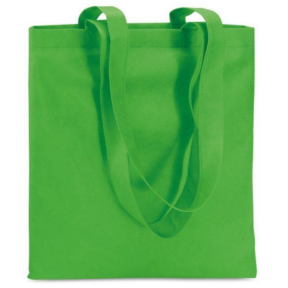 Sacosa netesuta de cumparaturi, netesut, green