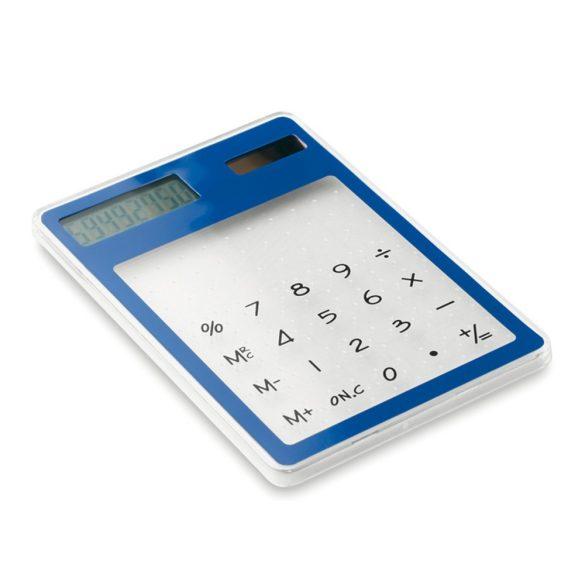 Calculator de birou cu 8 cifre, Everestus, 20IAN1179, Albastru, Plastic