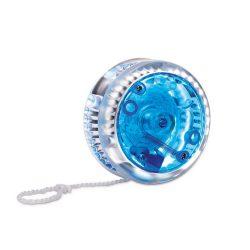 Yoyo cu lumina rosie, Plastic, blue