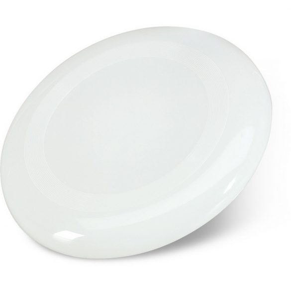 Frisbee 23 cm, Plastic, white