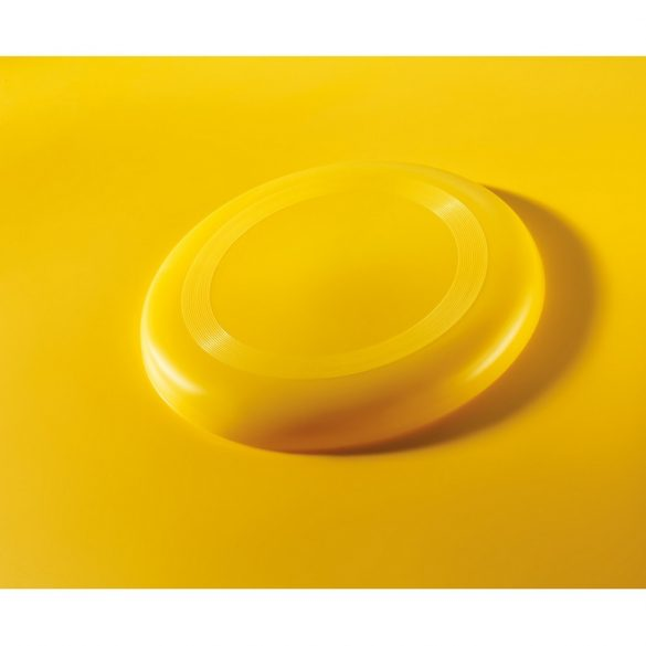 Frisbee 23 cm, Plastic, yellow