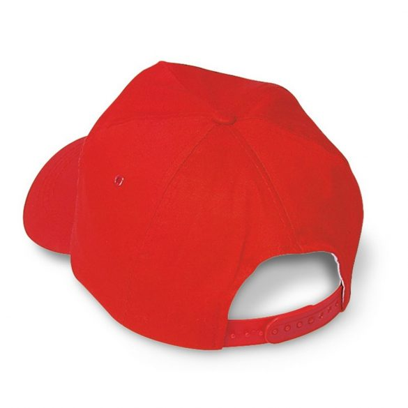 Sapca de baseball, bumbac, red