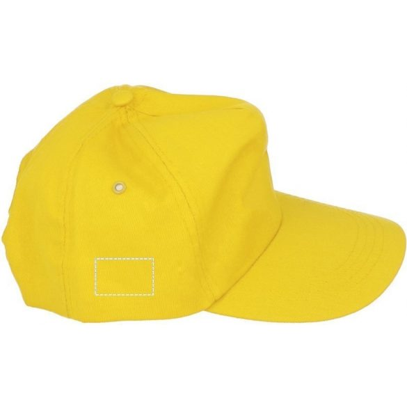Sapca de baseball, bumbac, yellow