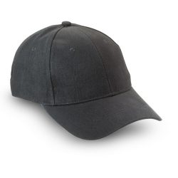 Sapca de baseball bumbac, Brushed, black