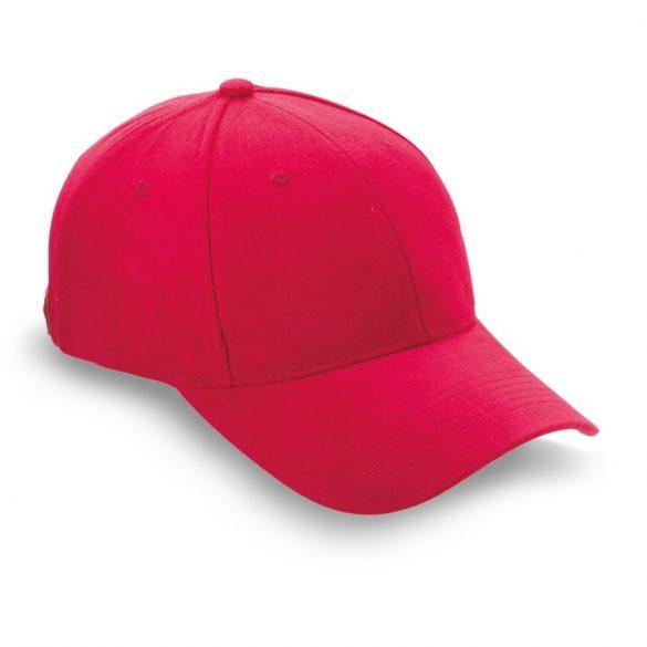 Sapca de baseball bumbac, Brushed, red