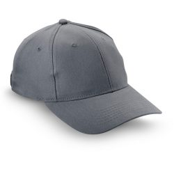 Sapca de baseball bumbac, Brushed, grey
