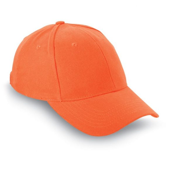 Sapca de baseball bumbac, Brushed, orange
