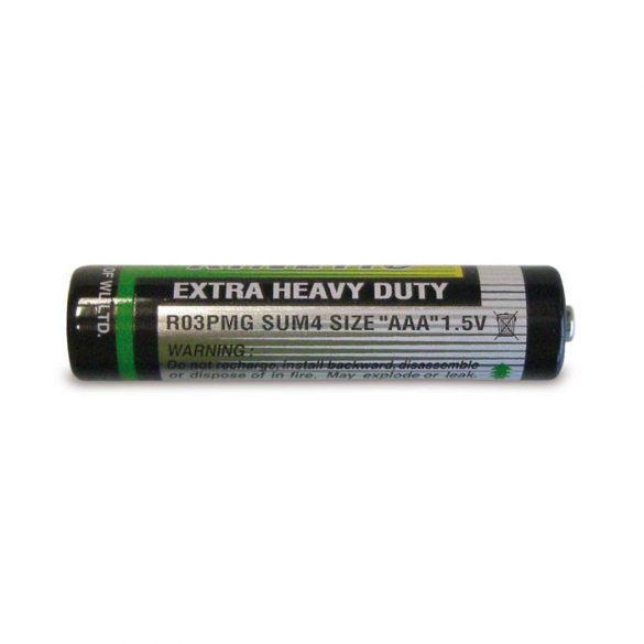 Baterie UM4 (AAA), PVC, multicolor