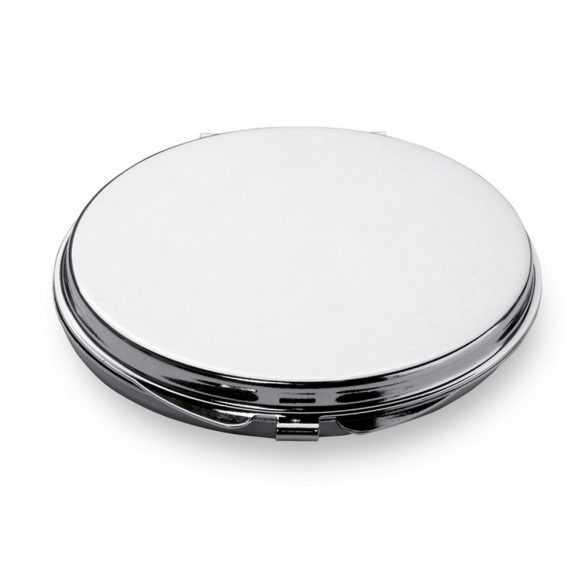 Oglinda dubla, Metal, shiny silver