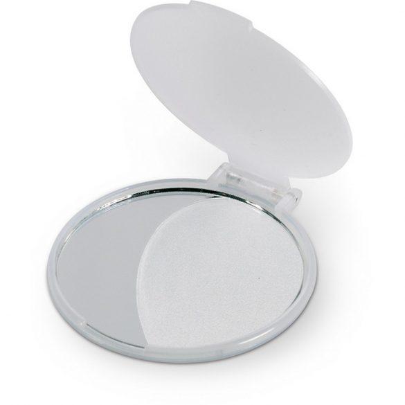 Oglinda pentru machiaj, Plastic, transparent white