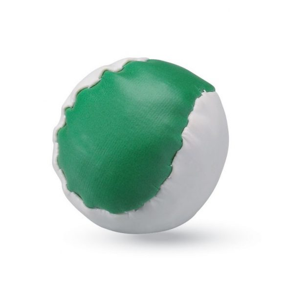 Jucarie antistres Minge de baseball, Everestus, ASJ009, poliuretan, verde