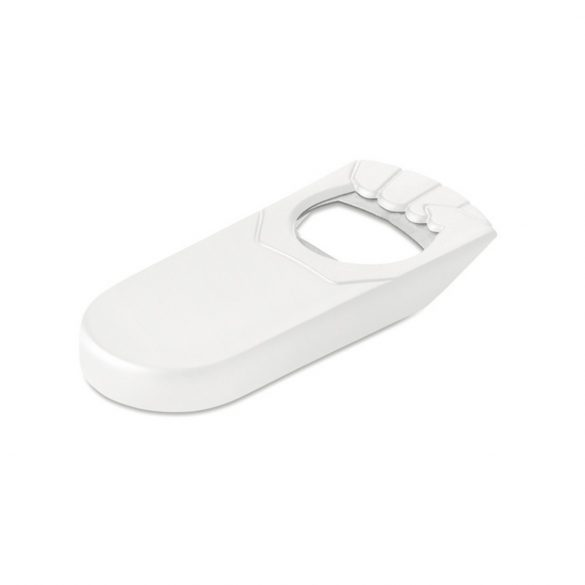 Deschizator de sticle si dop, Plastic, white