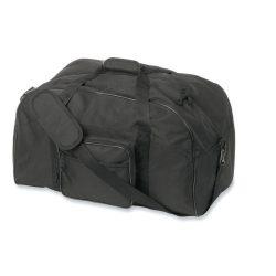 Geanta de voiaj si pentru sport, 600D poliester, Everestus, GS2, negru, saculet de calatorie si eticheta bagaj incluse