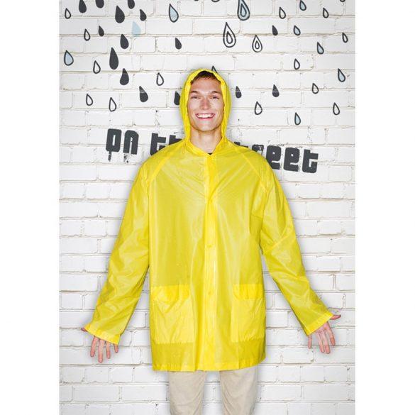Pelerina de ploaie cu gluga, Everestus, 20IAN1201, Galben, PVC