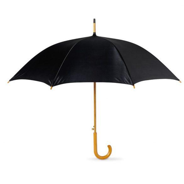 Umbrela cu deschidere automata 23 inch, Everestus, 20IAN795, Negru, Poliester 190 T