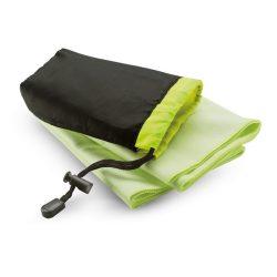 Prosop sport in husa din nylon, poliester, poliamida, 40x80 cm, Everestus, SPF004, verde, saculet sport inclus